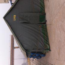 厂家供应户外野外住宿加厚帆布大型工地帐篷 施工帐篷防水保暖