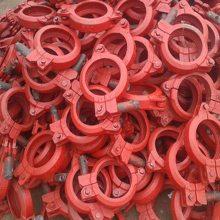 地泵管管卡 125高低压卡箍 汇鹏制造