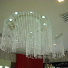 润林泉定制休闲娱乐场所现代简约LED水晶灯