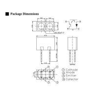 打印机机芯应用光电开关, ITR9909反射式感应开关, 川朗电子