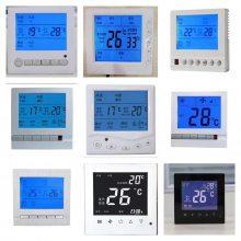 一种酒店宾馆中央空调液晶温控器风机盘管开关面板空调控制面板液晶温控器