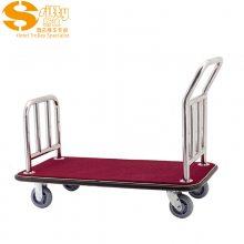 专业生产SITTY斯迪90.2008A不锈钢手推行李车