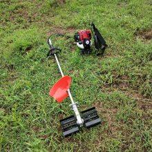 小型背负式除草机 HC-GCJ大棚果园松土机 华晨背负式收割机
