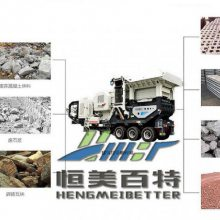 江西建筑垃圾破碎分筛设备 质优价廉石子破碎机价格