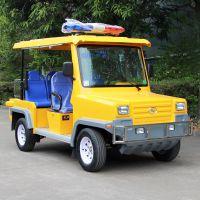 安步优品ABLQX047工程黄 悍马款五座电动巡逻车价格 场内电瓶巡逻车厂家