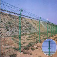 双边丝护栏网 道路防护网 围墙护栏网