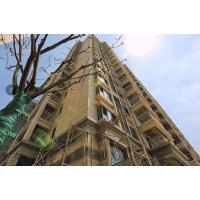 真石漆酒店外墙翻新工程瓷砖表面施工定制外墙涂料厂家