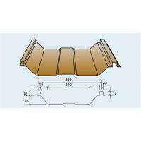 巢湖彩钢厂家供应YX51-360型360度咬口屋面板