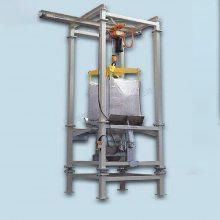 供应锰酸锂吨包拆包机 负极材料吨袋拆包机 电池粉吨袋拆包设备 科磊