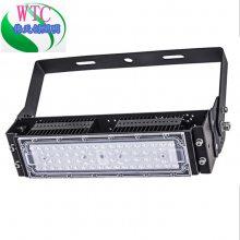 50W户外隧道灯外壳套件 单模组投光灯泛光灯套件 LED鳍片灯具套件