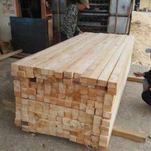 工程工地定制加工木方杨木白送铁杉樟子松落叶松南方松