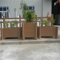 户外水泥仿木制花盆 防腐蚀景观花箱组合园林花箱 量大从优