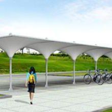 膜结构汽车车棚厂-膜结构-苏州创锦帆装饰工程有限公司