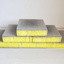 河南外墙保温玻璃棉复合板 8㎝厚机制砂浆玻璃棉复合板盈辉生产