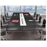 广州办公家具厂家简约板式长条圆弧形洽谈小开会桌椅组合会议桌