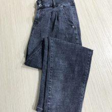 欧宝时尚牛仔裤 时尚休闲牛仔裤 品牌折扣女装牛仔裤