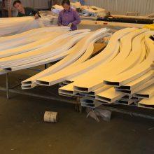 湖北铝方通吊顶装饰铝天花 木纹u型铝方通厂家