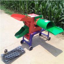 大型玉米秸秆铡草机 多功能高喷青储铡草揉搓机 电动切草机