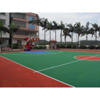 足球场人造草坪 塑胶篮球场施工 幼儿园EPDM 羽毛球场施工建设