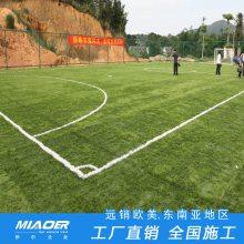 嘉定区生产假草坪 仿真来料加工足球场地施工方案