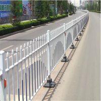 公路市政护栏 道路隔离栏 铁艺锌钢护栏