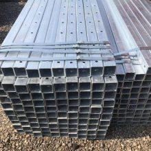 中和伟业国标镀锌方管 无缝矩形钢管镀锌方管 Q235B直缝焊管方矩管镀锌方管