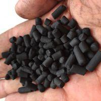 工业废气除臭 烤漆房废气吸附用柱状活性炭 家用除甲醛空气净化高碘质活性炭