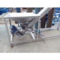 西安304不锈钢面粉提升机 全自动移动式粮食输送机六九重工
