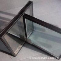 中空玻璃加工厂 5+6A+5中空双钢化磨砂玻璃  防紫外线玻璃