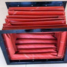 广纳矽胶涂面玻璃纤维风管 焊锡高温软管 高温防火软接 风机进出口软连厂家