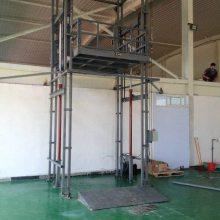 厂家供应 5吨20米吊机、导轨链条式升降平台、 安装简单 运行平稳、噪音低 厂房升降货梯