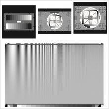 YE006 D240 4:3透射图像240*180mm图卡320*290mm棋盘格畸变测试卡
