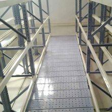 重庆固联阁楼式钢平台货架批发供应