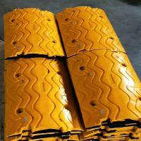 橡胶减速带减速板阻车器橡胶减速垄公路减带交通设施 河北路泰
