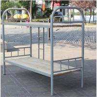 吉安厂家定做双层床学生宿舍铁架床两层员工公寓钢床上下铺高低铺铁床单人铁艺