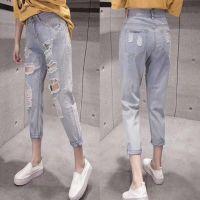 夏季工厂处理低价牛仔裤便宜时尚牛仔裤夏季衣服批发
