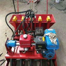 多行大蒜播种机 可调株距蒜播机 汽油自走式大蒜播种机