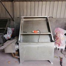 鸡粪脱水机 斜筛式不锈钢干湿分离机 猪粪固液分离机厂家