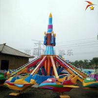 户外旋转升降自控飞机游乐设备 儿童游乐场设施厂家