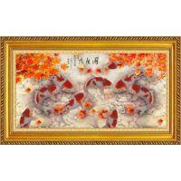 骏枫国艺钻石画赢市场先机 艺术熏陶从骏枫国艺开始