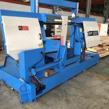 热销4260龙门金属锯床 GB4260重型卧式双柱带锯床 钢筋/钢材锯床