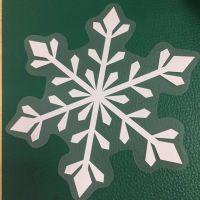 清水河圣诞节系列静电膜橱窗贴纸喷绘多少钱一平米