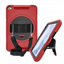 适用iPad mini4/5 车载背带款保护套 多功能tpu平板防摔保护套