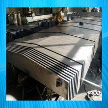 广纳芜湖机床导轨伸缩护板 不锈钢防护罩生产厂家