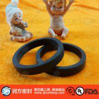 【润方】PTFE密封圈 耐磨耐腐蚀聚四氟乙烯油封 塑料王密封件