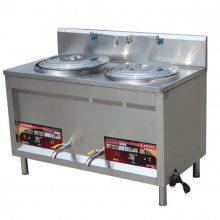 燃气双头煮面炉型号-燃气双头煮面炉-百户达厨业定制厂家