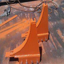 山西矿用月牙挡车器 WCD型弯式月牙挡车器销售