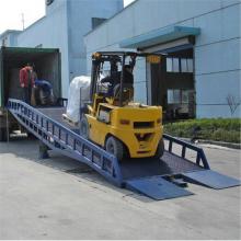 济南8吨移动式登车桥厂家 集装卸装卸货平台 叉车搭桥 可按需生产