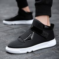 2018秋季男士休闲鞋子批发男鞋韩版新款时尚小白鞋运动板鞋男DC07