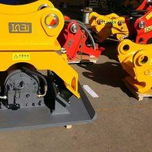 17-23T震动夯实机 厂家特价挖掘机液压夯实器 连接破碎锤管路